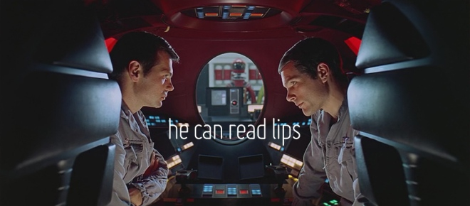 2001 A Space Odyssey: He Can Read Lips
