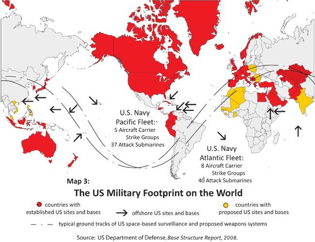 U.S. Military Footprint